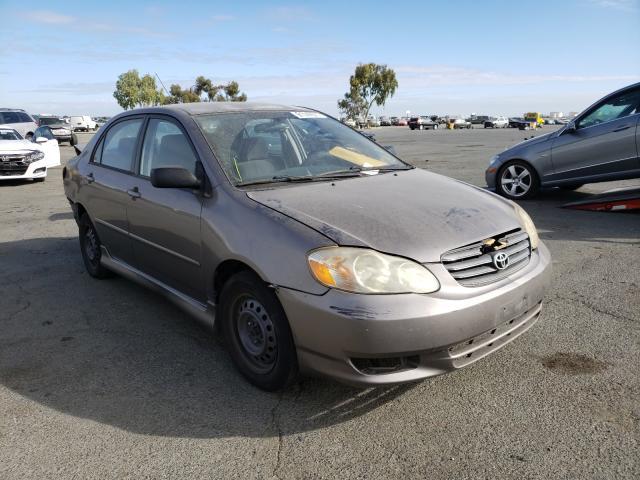 Vehiculos salvage en venta de Copart Martinez, CA: 2004 Toyota Corolla CE