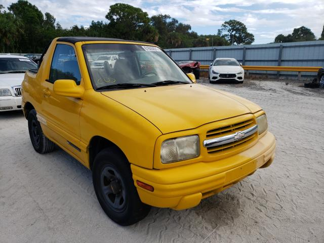 Chevrolet Tracker salvage cars for sale: 2001 Chevrolet Tracker