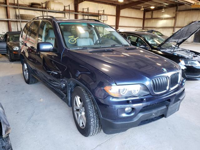 BMW salvage cars for sale: 2005 BMW X5 3.0I