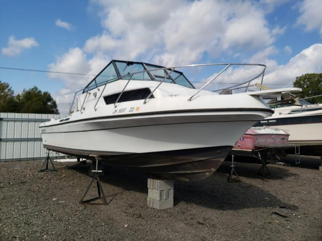 Salvage boats for sale at Columbia Station, OH auction: 1989 Sportsmen 270 Fisher