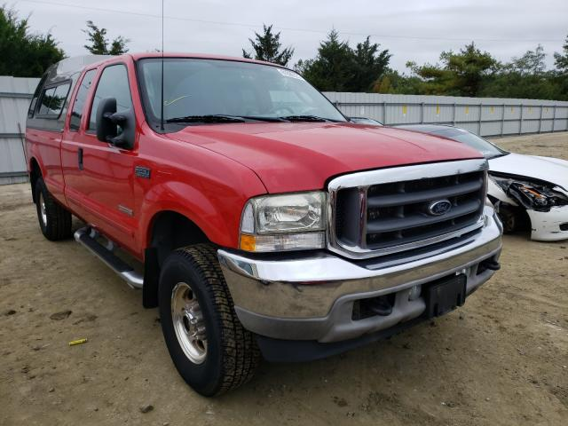 Ford F250 salvage cars for sale: 2003 Ford F250