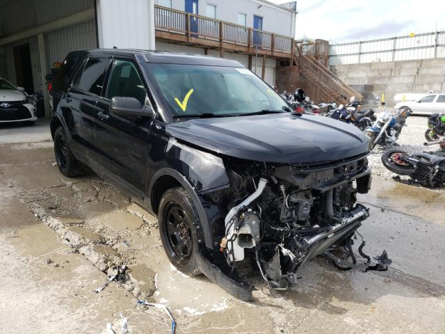Salvage cars for sale from Copart Walton, KY: 2016 Ford Explorer P