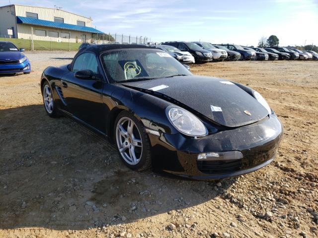 Porsche Boxster salvage cars for sale: 2007 Porsche Boxster