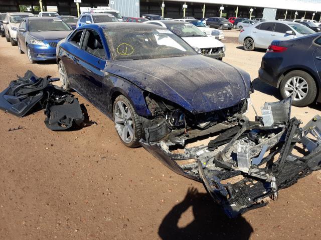 Salvage cars for sale from Copart Phoenix, AZ: 2020 Audi A5 Premium