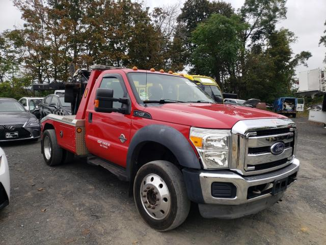 Salvage cars for sale from Copart Marlboro, NY: 2014 Ford F450 Super