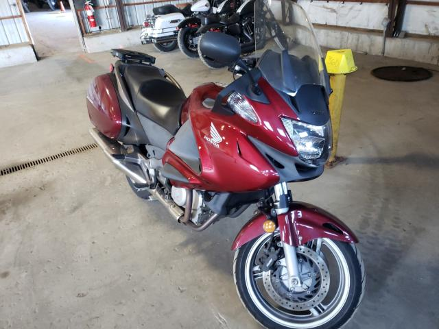 Salvage motorcycles for sale at Candia, NH auction: 2010 Honda NT700 V
