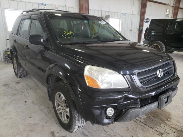 Salvage cars for sale from Copart Haslet, TX: 2005 Honda Pilot EXL