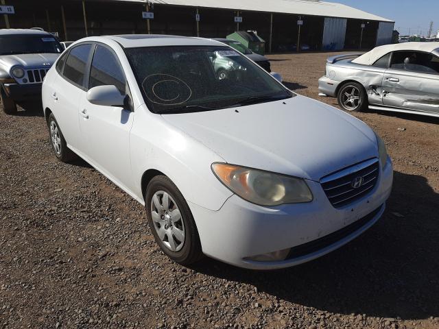 Salvage cars for sale at Phoenix, AZ auction: 2008 Hyundai Elantra GL
