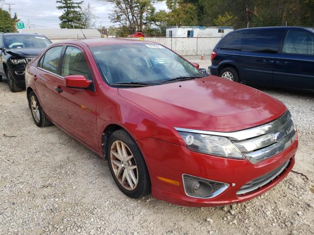 Salvage cars for sale from Copart Northfield, OH: 2010 Ford Fusion SEL