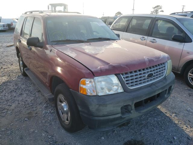 Salvage cars for sale from Copart New Orleans, LA: 2003 Ford Explorer X