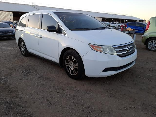 Salvage cars for sale from Copart Phoenix, AZ: 2011 Honda Odyssey EX