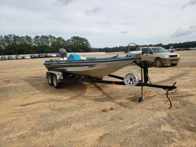 Salvage boats for sale at Theodore, AL auction: 1989 Kingdom Boat With Trailer