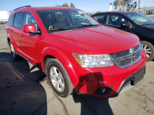 Vehiculos salvage en venta de Copart Martinez, CA: 2012 Dodge Journey SX