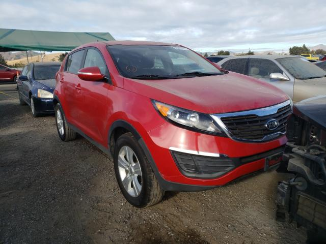 Salvage cars for sale from Copart San Martin, CA: 2012 KIA Sportage B