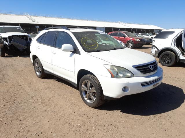 Salvage cars for sale from Copart Phoenix, AZ: 2006 Lexus RX 400
