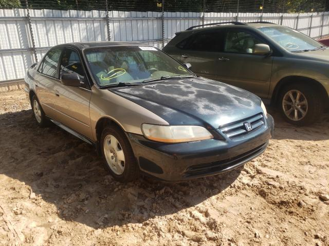 Salvage cars for sale from Copart Austell, GA: 2001 Honda Accord EX