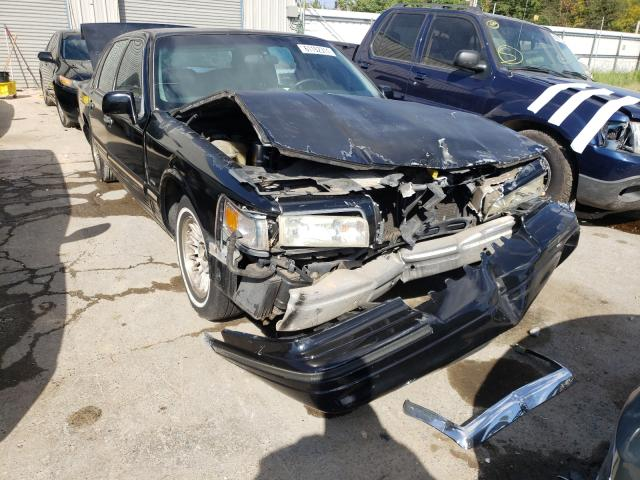 Lincoln Town Car salvage cars for sale: 1996 Lincoln Town Car