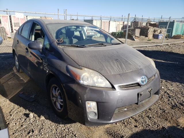Salvage cars for sale from Copart San Martin, CA: 2010 Toyota Prius
