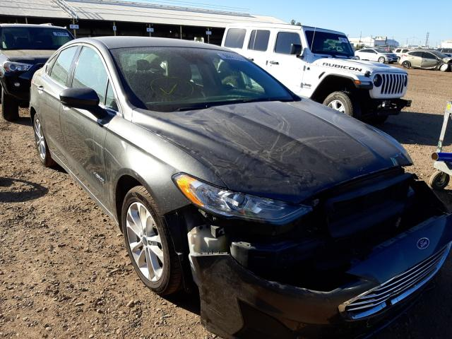 Salvage cars for sale from Copart Phoenix, AZ: 2019 Ford Fusion SE