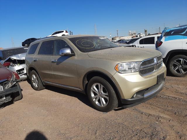 Salvage cars for sale from Copart Phoenix, AZ: 2012 Dodge Durango CR