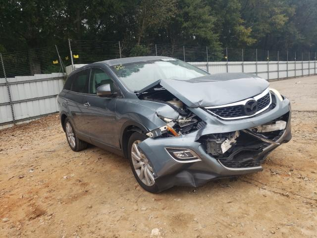 Salvage cars for sale from Copart Austell, GA: 2010 Mazda CX-9