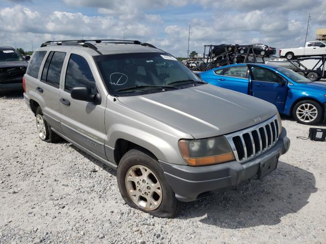 Salvage cars for sale from Copart New Orleans, LA: 2001 Jeep Grand Cherokee