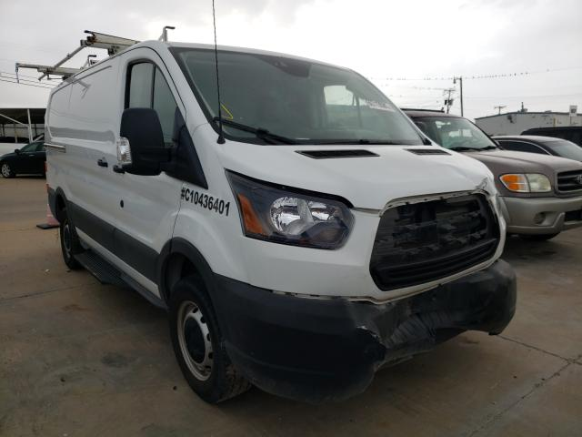 Salvage cars for sale from Copart Grand Prairie, TX: 2019 Ford Transit T