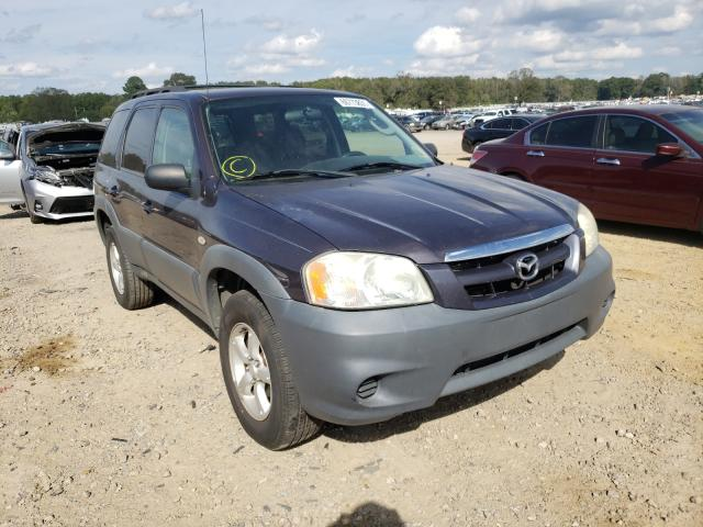 Salvage cars for sale at Conway, AR auction: 2006 Mazda Tribute I