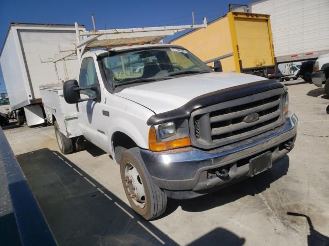 Salvage cars for sale from Copart Sun Valley, CA: 2001 Ford F450 Super
