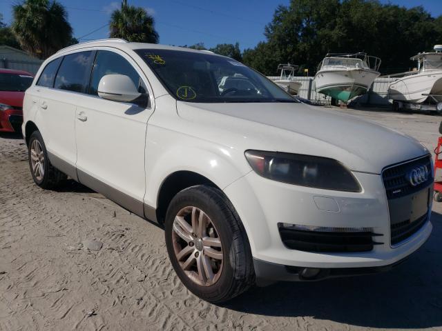 Salvage cars for sale from Copart Punta Gorda, FL: 2009 Audi Q7 3.6 Quattro