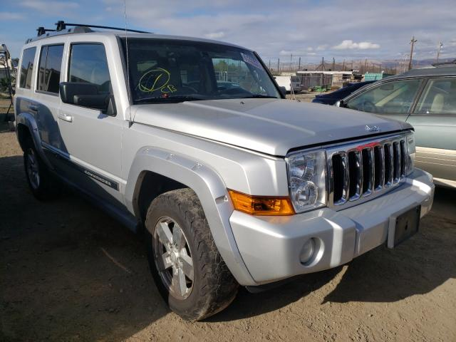 Salvage cars for sale from Copart San Martin, CA: 2006 Jeep Commander