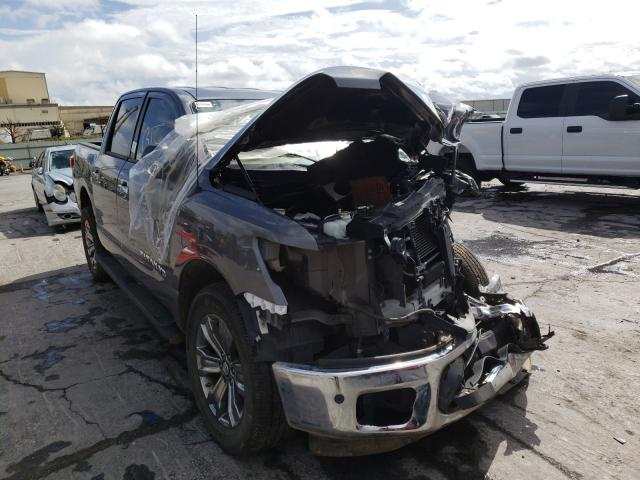 Salvage cars for sale from Copart Tulsa, OK: 2019 Nissan Titan SV