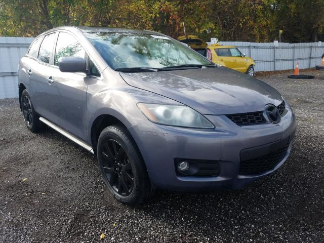 Salvage cars for sale from Copart Ontario Auction, ON: 2007 Mazda CX-7