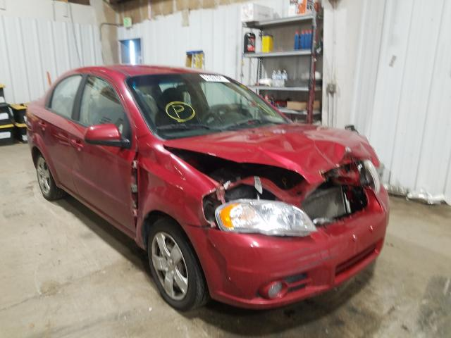 Salvage cars for sale at Anchorage, AK auction: 2011 Chevrolet Aveo LT