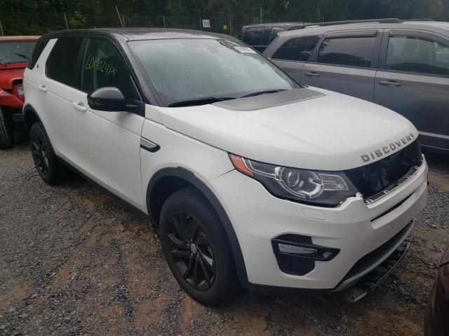 Land Rover Discovery salvage cars for sale: 2016 Land Rover Discovery