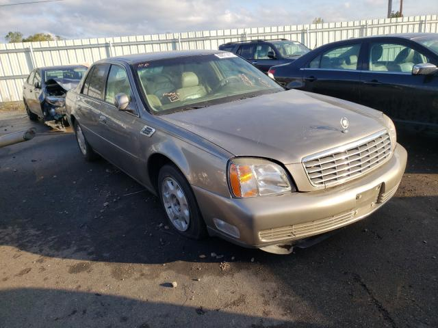 Cadillac Deville salvage cars for sale: 2000 Cadillac Deville