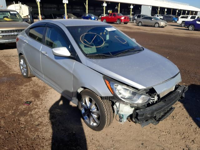 Salvage cars for sale from Copart Phoenix, AZ: 2013 Hyundai Accent GLS