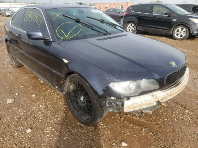 BMW Vehiculos salvage en venta: 2005 BMW 325 CI