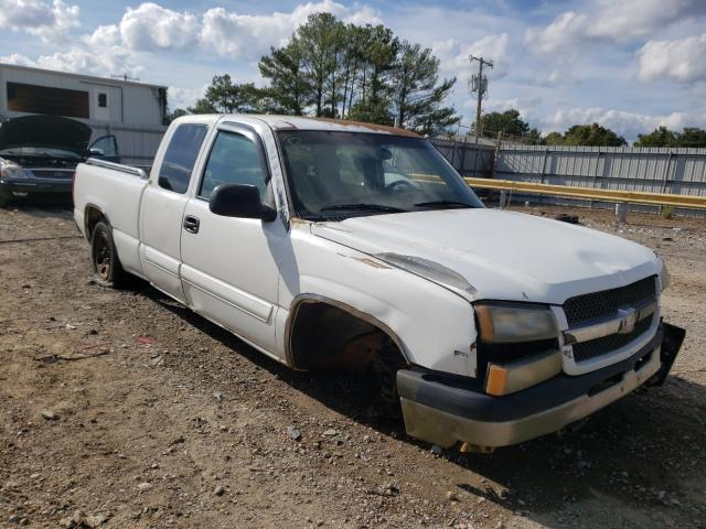Salvage cars for sale at Florence, MS auction: 2003 Chevrolet Silverado