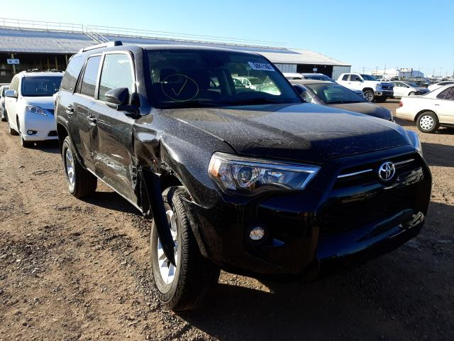 Salvage cars for sale at Phoenix, AZ auction: 2021 Toyota 4runner SR