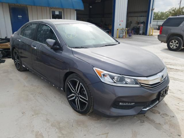 Salvage cars for sale from Copart Abilene, TX: 2016 Honda Accord Sport