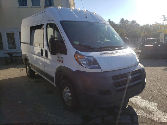 Salvage cars for sale from Copart Exeter, RI: 2017 Dodge RAM Promaster