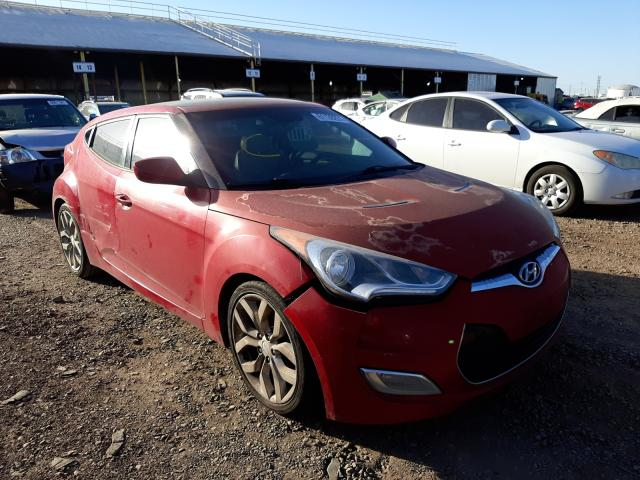 Salvage cars for sale from Copart Phoenix, AZ: 2012 Hyundai Veloster