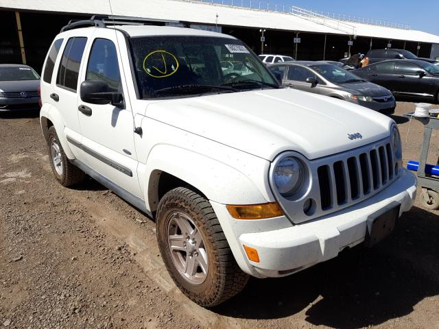 Salvage cars for sale from Copart Phoenix, AZ: 2007 Jeep Liberty SP