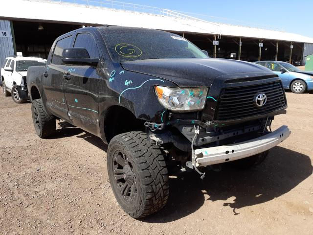 Salvage cars for sale from Copart Phoenix, AZ: 2012 Toyota Tundra CRE