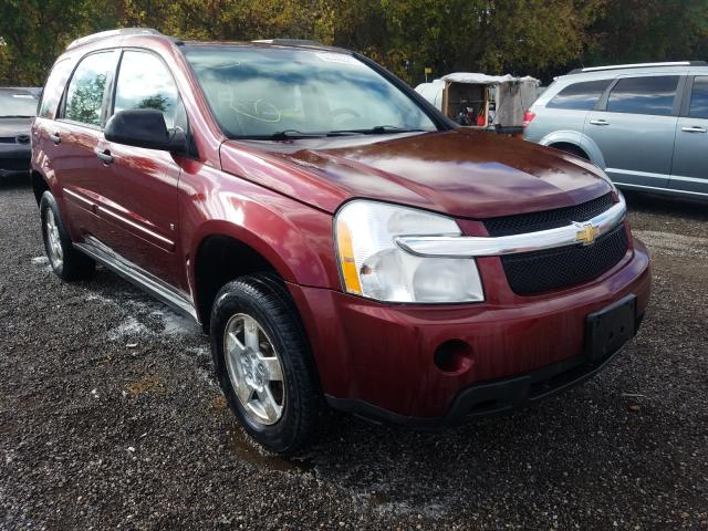Salvage cars for sale from Copart London, ON: 2008 Chevrolet Equinox LS