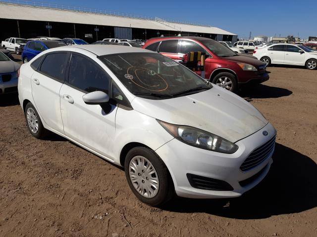Salvage cars for sale from Copart Phoenix, AZ: 2015 Ford Fiesta S