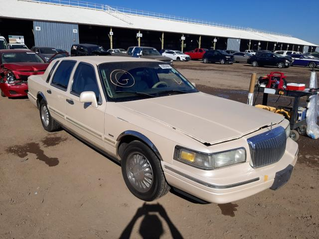 Salvage cars for sale from Copart Phoenix, AZ: 1997 Lincoln Town Car C