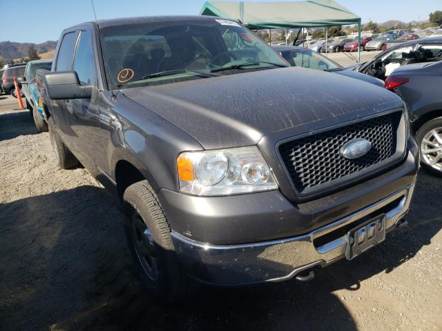 Salvage cars for sale from Copart San Martin, CA: 2006 Ford F150 Super
