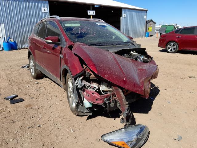 Salvage cars for sale from Copart Phoenix, AZ: 2014 Ford Escape Titanium